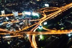 Πολυ ανταλλαγή σωρών επιπέδων στη Μπανγκόκ στοκ φωτογραφία με δικαίωμα ελεύθερης χρήσης