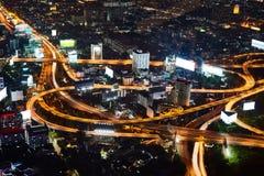Πολυ ανταλλαγή σωρών επιπέδων στη Μπανγκόκ στοκ φωτογραφίες με δικαίωμα ελεύθερης χρήσης