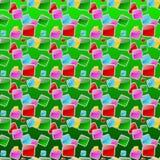 Πολυ κουμπιά επιλογής χρωμάτων Στοκ φωτογραφία με δικαίωμα ελεύθερης χρήσης
