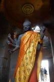 Πολυ-οπλισμένο Vishnu Στοκ Εικόνες