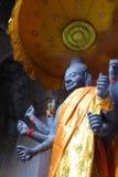 Πολυ-οπλισμένο Vishnu Στοκ εικόνα με δικαίωμα ελεύθερης χρήσης