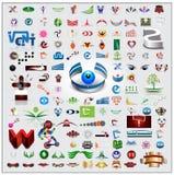 Σύμβολα και εικονίδια καθορισμένα Στοκ φωτογραφία με δικαίωμα ελεύθερης χρήσης