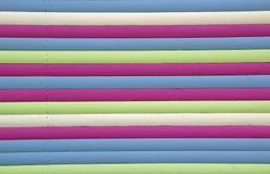 Πολυ χρωματισμένα λωρίδες Στοκ Εικόνες
