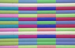 Πολυ χρωματισμένα λωρίδες Στοκ εικόνα με δικαίωμα ελεύθερης χρήσης