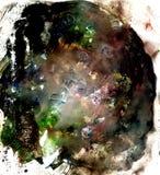 Πολυ χρωματισμένη σύσταση Acrylics στοκ φωτογραφίες με δικαίωμα ελεύθερης χρήσης
