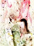 Πολυ χρωματισμένη σύσταση Acrylics στοκ εικόνα