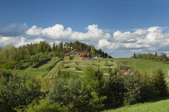 Πολωνία, βουνά Pieniny, Palenica Στοκ Εικόνες