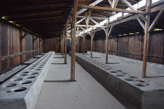 Πολωνία, στρατόπεδο συγκέντρωσης Auschwitz Στοκ Φωτογραφία