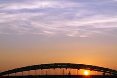 Πολωνία, Krakà ³ W, αψίδες του περισσότερου Kotlarski (γέφυρα Kotlarski), σύνολο στοκ εικόνα με δικαίωμα ελεύθερης χρήσης