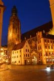 Πολωνία, Wroclaw, παλαιά αγορά Στοκ εικόνα με δικαίωμα ελεύθερης χρήσης
