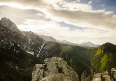 Πολωνικά βουνά Στοκ Φωτογραφία
