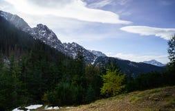 Πολωνικά βουνά Στοκ φωτογραφία με δικαίωμα ελεύθερης χρήσης