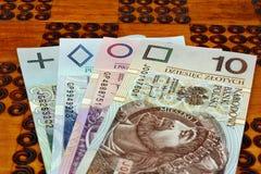 Πολωνικά χρήματα στοκ εικόνες