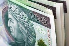 Πολωνικά χρήματα Στοκ Φωτογραφίες