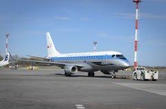 Πολωνικές αερογραμμές ΜΕΡΩΝ Στοκ εικόνα με δικαίωμα ελεύθερης χρήσης