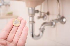Πολωνικές δαπάνες υδραυλικών Στοκ φωτογραφία με δικαίωμα ελεύθερης χρήσης