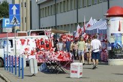 Πολωνικές στάσεις εξαρτημάτων ανεμιστήρων Στοκ Φωτογραφίες