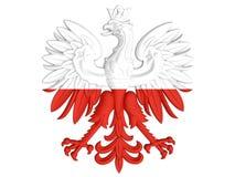Πολωνική κάλυψη των όπλων Στοκ εικόνες με δικαίωμα ελεύθερης χρήσης