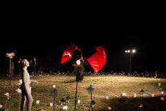 Πολωνική ομάδα. Teatr ΦΕΤΑ και Teatr Poza Tym στο θέαμα Στοκ φωτογραφίες με δικαίωμα ελεύθερης χρήσης
