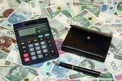 Πολωνικός μισθός χρημάτων στοκ φωτογραφίες με δικαίωμα ελεύθερης χρήσης