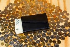 Πολωνικός μισθός χρημάτων στοκ φωτογραφία