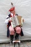 Πολωνικός μουσικός Στοκ Εικόνες