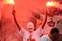 Πολωνικός τελικός Κυπέλλου: Legia-Lech στοκ φωτογραφίες με δικαίωμα ελεύθερης χρήσης
