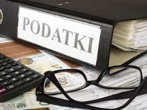 Πολωνικό μεμονωμένο εισόδημα Στοκ φωτογραφία με δικαίωμα ελεύθερης χρήσης