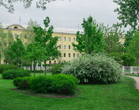Πολωνικό πάρκο στη Αγία Πετρούπολη Στοκ εικόνες με δικαίωμα ελεύθερης χρήσης