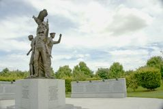 Πολωνικό πολεμικό μνημείο Στοκ φωτογραφία με δικαίωμα ελεύθερης χρήσης