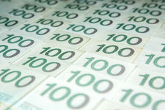 Πολωνικό zloty νόμισμα στοκ φωτογραφία με δικαίωμα ελεύθερης χρήσης