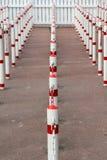 Πολωνοί που επεξηγούν την περιμένοντας γραμμή Στοκ Φωτογραφία