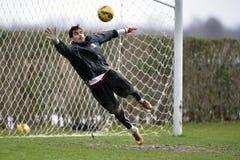 Ποδόσφαιρο ή footbal τερματοφύλακας Στοκ Εικόνα