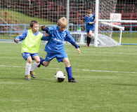 ποδόσφαιρο αντιστοιχιών &ka Στοκ Εικόνες