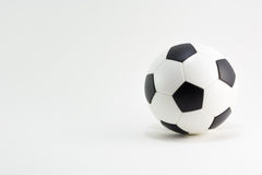 ποδόσφαιρο γυαλιού καψίματος σφαιρών aqua στοκ φωτογραφία