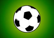 ποδόσφαιρο γυαλιού καψίματος σφαιρών aqua Στοκ εικόνες με δικαίωμα ελεύθερης χρήσης