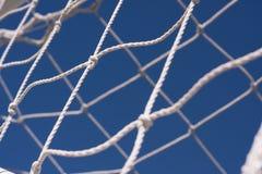 Ποδόσφαιρο καθαρό Στοκ Εικόνες