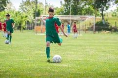 ποδόσφαιρο κατσικιών στοκ φωτογραφία με δικαίωμα ελεύθερης χρήσης