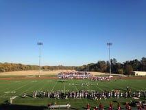Ποδόσφαιρο κολλεγίου Bethel στοκ εικόνες