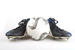 ποδόσφαιρο μποτών Στοκ φωτογραφία με δικαίωμα ελεύθερης χρήσης