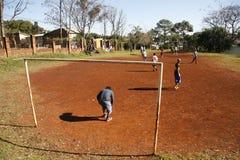 ποδόσφαιρο παιχνιδιών στοκ εικόνα