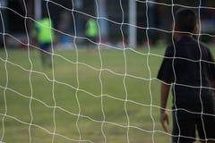 ποδόσφαιρο παιχνιδιών Στοκ Φωτογραφία