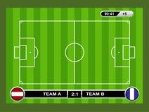 ποδόσφαιρο πεδίων σχεδίου εσείς ελεύθερη απεικόνιση δικαιώματος