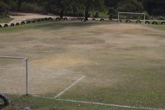 ποδόσφαιρο πεδίων σχεδίου εσείς Στοκ Εικόνα