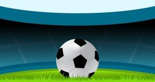 Ποδόσφαιρο, ποδόσφαιρο, σφαίρα ποδοσφαίρου, αθλητισμός, στάδιο διανυσματική απεικόνιση