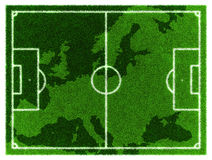 Ποδόσφαιρο της Ευρώπης Απεικόνιση αποθεμάτων