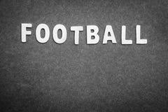 ποδόσφαιρο τρία σχεδίου εμβλημάτων ανασκόπησης εσείς Στοκ εικόνες με δικαίωμα ελεύθερης χρήσης