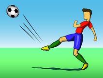 ποδόσφαιρο φορέων σφαιρών ελεύθερη απεικόνιση δικαιώματος