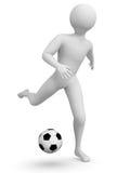 ποδόσφαιρο φορέων Στοκ εικόνα με δικαίωμα ελεύθερης χρήσης