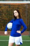 ποδόσφαιρο φορέων Στοκ Φωτογραφία